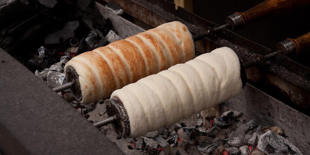Postre típico húngaro de caramelo.
