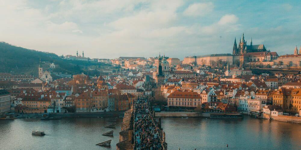 Vista de Mala Strana desde la Ciudad Vieja