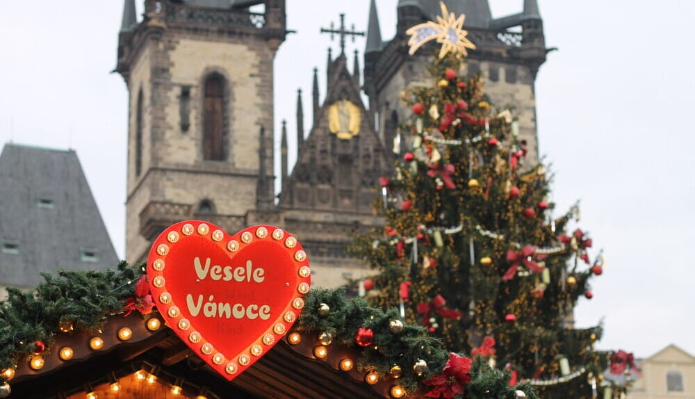 Foto de Praga en Navidad