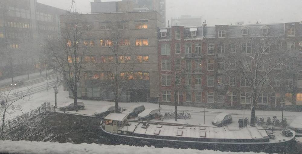El tiempo en Ámsterdam en enero
