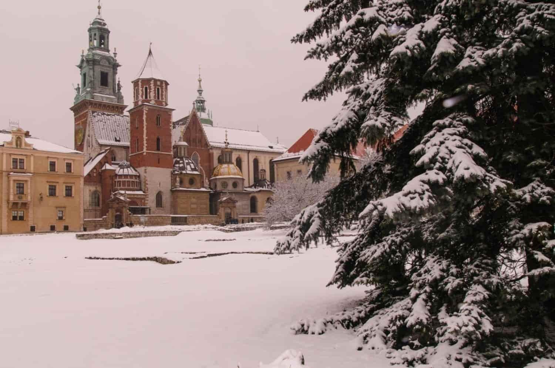 Tiempo, clima y temperatura en Cracovia en enero