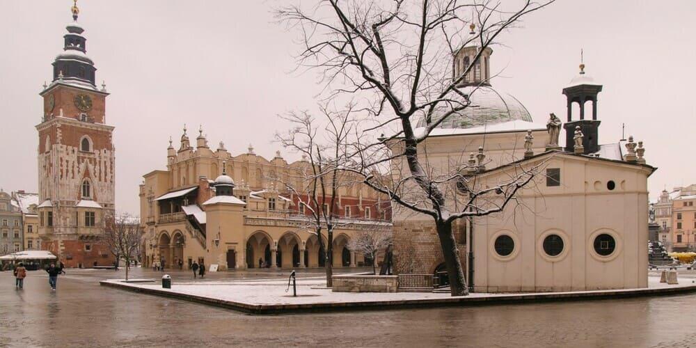 El tiempo en Cracovia en enero
