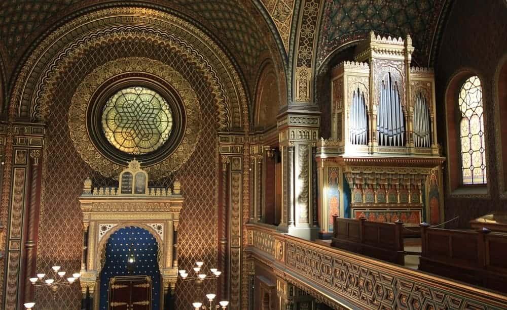 Con la Prague Card podrás entrar gratuitamente a la Sinagoga Española