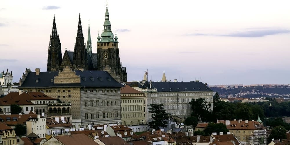 La Catedral de San Vito es el edificio más conocido del Castillo de Praga