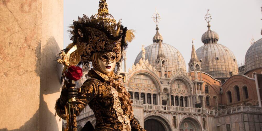 Día de invierno en una excursión a Venecia desde Roma