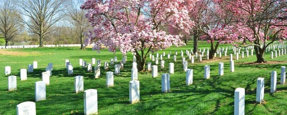Panorámica del Cementerio de Arlington, muy visitado por los turistas durante sus excursiones desde Nueva York.