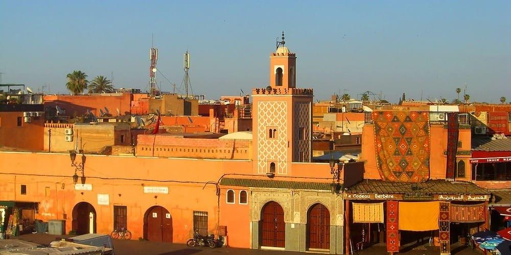 El clima en Marrakech en febrero