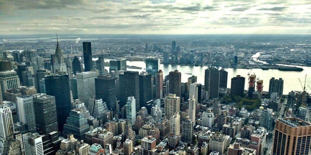 El clima en Nueva York en febrero