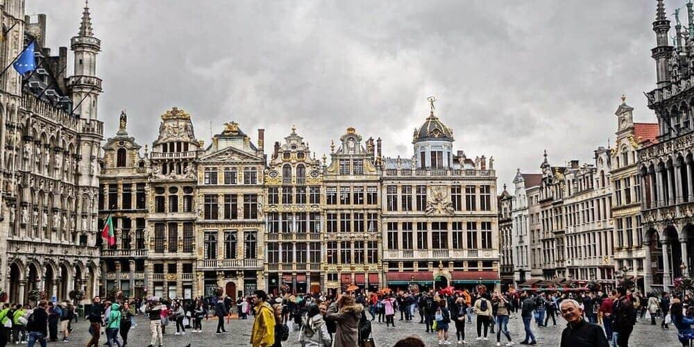 Tiempo y temperatura en Bruselas en enero