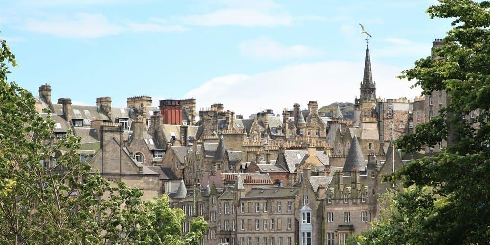 Vistas de Edimburgo durante la excursión desde Londres.