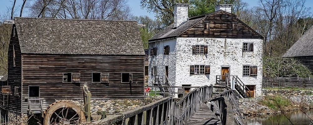Vista del pueblo de Sleepy Hollow