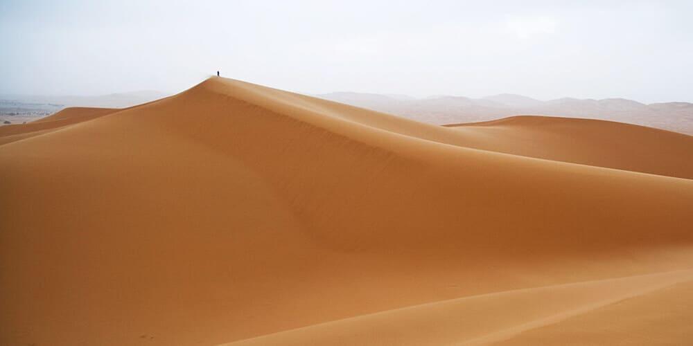 Excursión al desierto de Merzouga en quad desde Marrakech