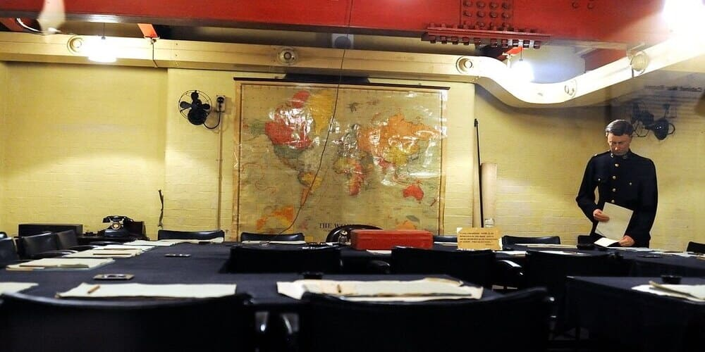 Qué hacer en enero en Londres - visitar Churchill War Rooms