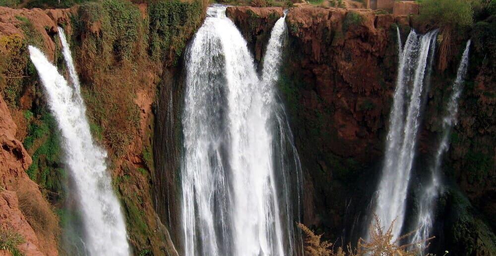 Qué hacer en Marrakech - excursión a las Cascadas de Ouzoud