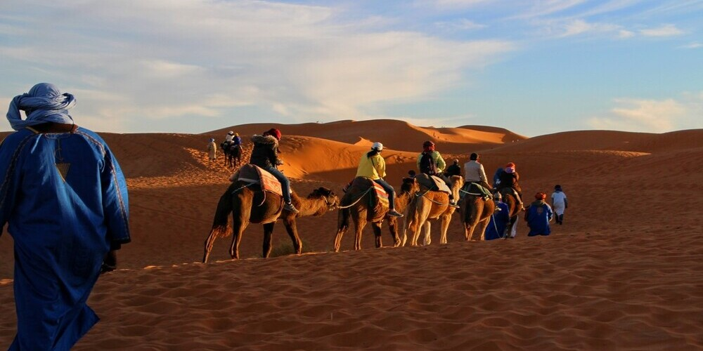 Ruta en camello y quad por el desierto de Marrakech (Marruecos)