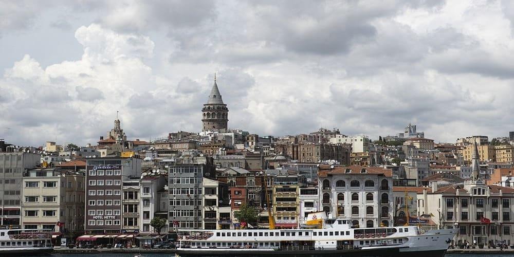 Tiempo en Estambul en enero