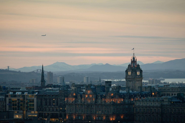 Tiempo, Clima y Temperatura en Edimburgo en Enero