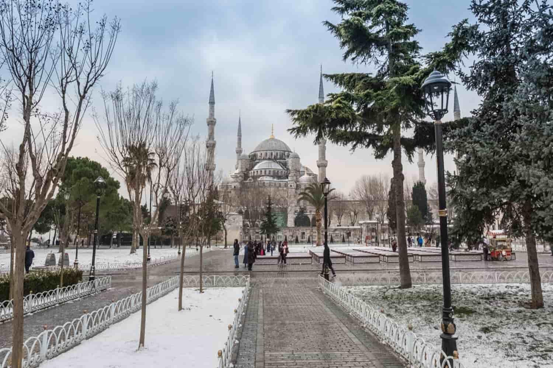 Tiempo, clima y temperatura en Estambul en diciembre