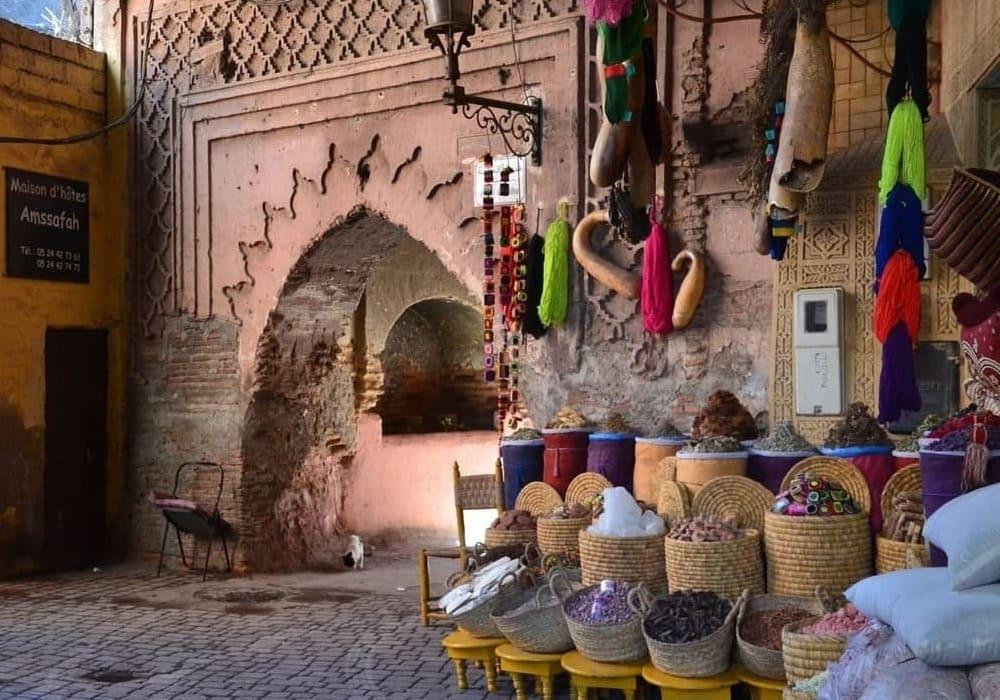Tiempo, Clima y Temperatura en Marrakech en Enero