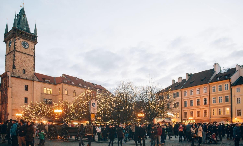Tiempo, Clima y Temperatura en Praga en Enero