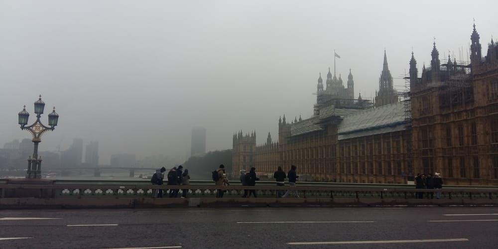 Tiempo y temperatura en Londres en enero