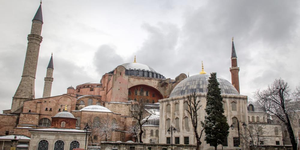 Tiempo y temperatura en Estambul en enero