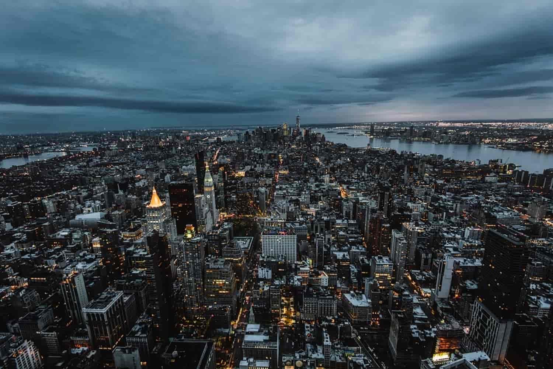 Tiempo, clima y temperatura en Nueva York en febrero