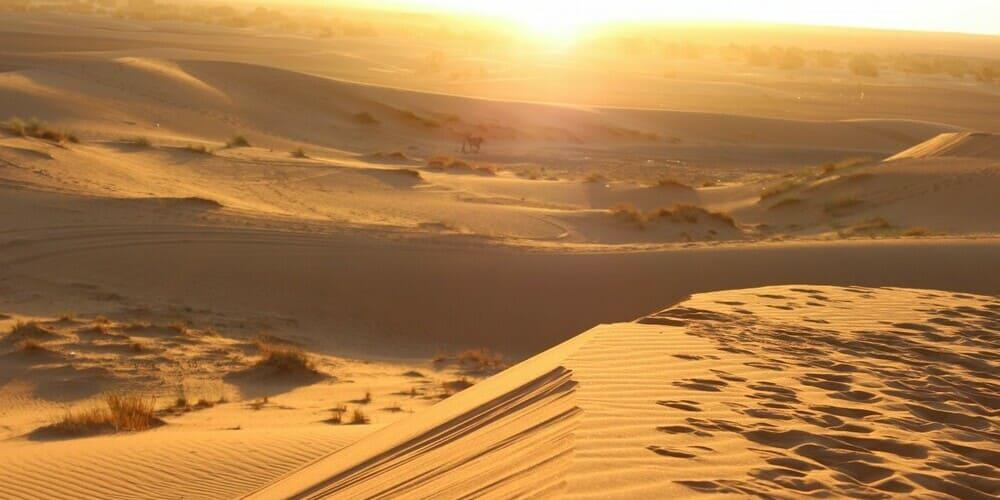 El clima y el tiempo en el desierto de Marruecos