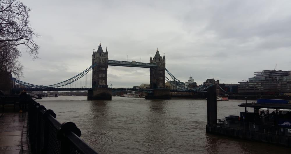 El clima en Londres en enero