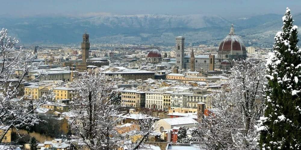 El clima en Florencia (Italia)