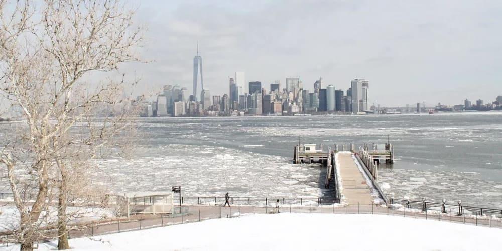 Tiempo y temperatura en Nueva York en febrero