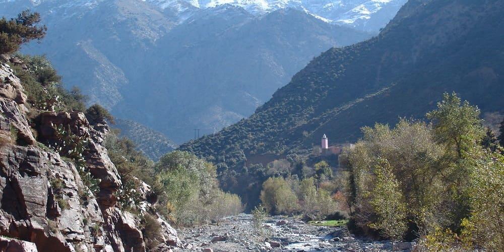 Visita al Valle de Ourika desde la Ciudad Roja
