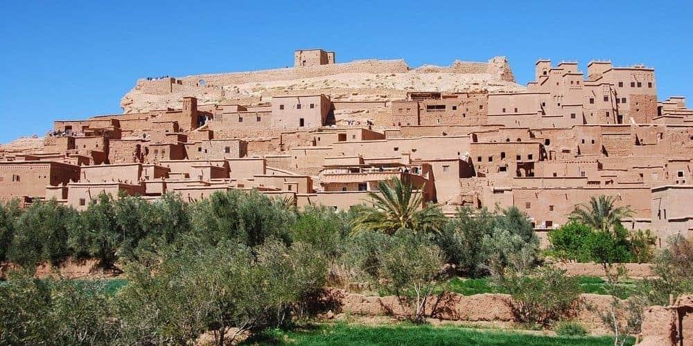 Cómo llegar a Merzouga desde Marrakech - pasando por la ciudad de Ouarzazate