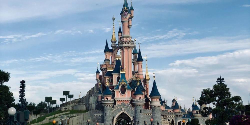 Castillo de Disneyland París.