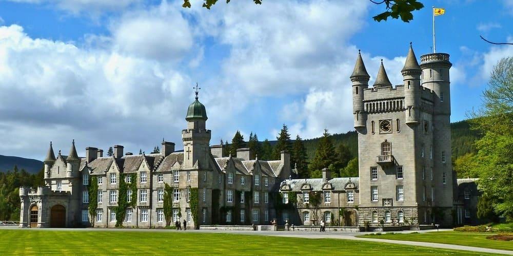 Imagen del Castillo del Balmoral, cerca de Aberdeen.