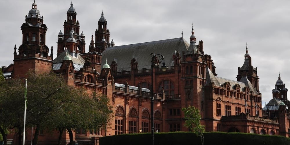 Imagen del Museo Kelvingrove en Glasgow