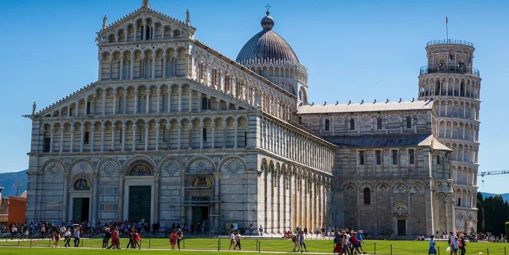 Imagen tomada durante una de las excursiones desde Florencia a Pisa