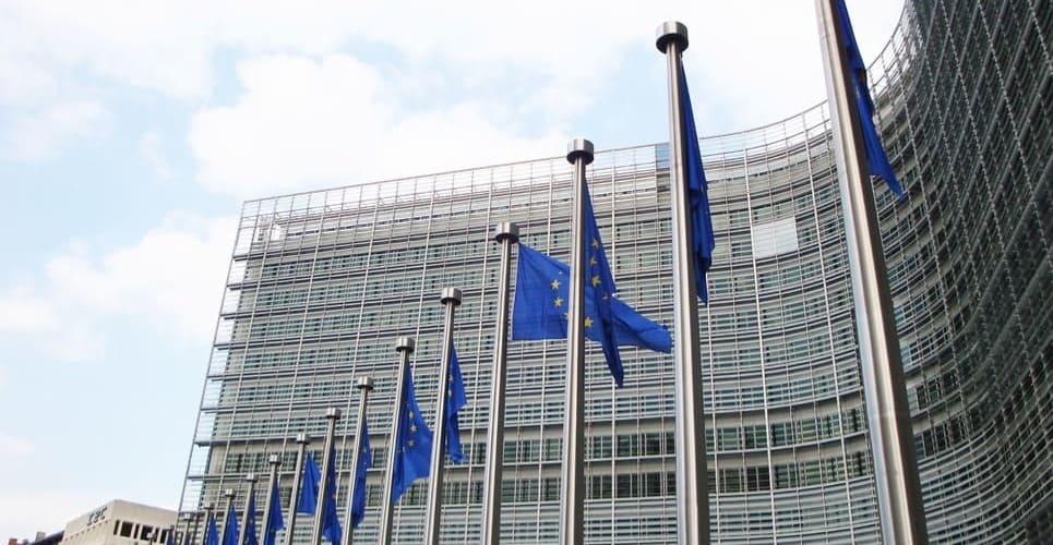 Fotografía de uno de los órganos de gobierno europeos durante un free tour por Bruselas.