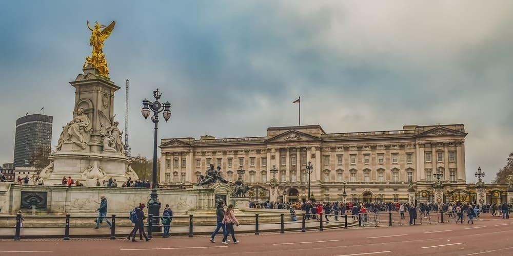 Fotografía del Palacio de Buckingham bajo el tiempo, clima y temperatura en Londres en Marzo