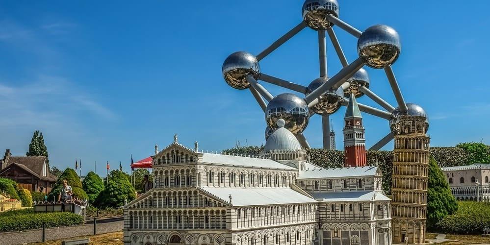 Imagen del parque temático Mini-Europe.