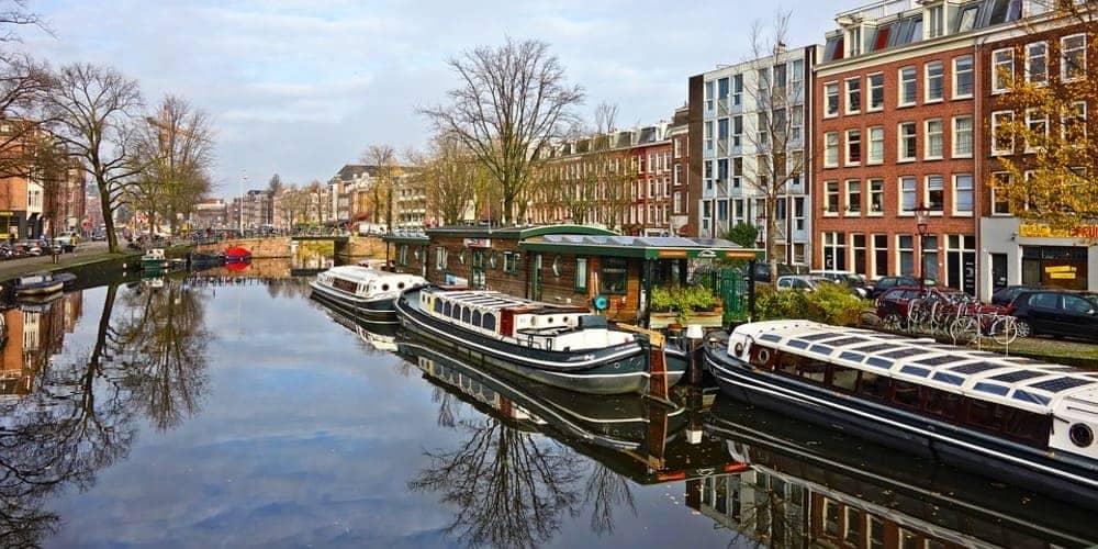 El tiempo en Ámsterdam en marzo