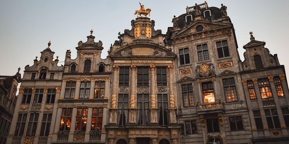 Imagen de las calles de Bruselas.