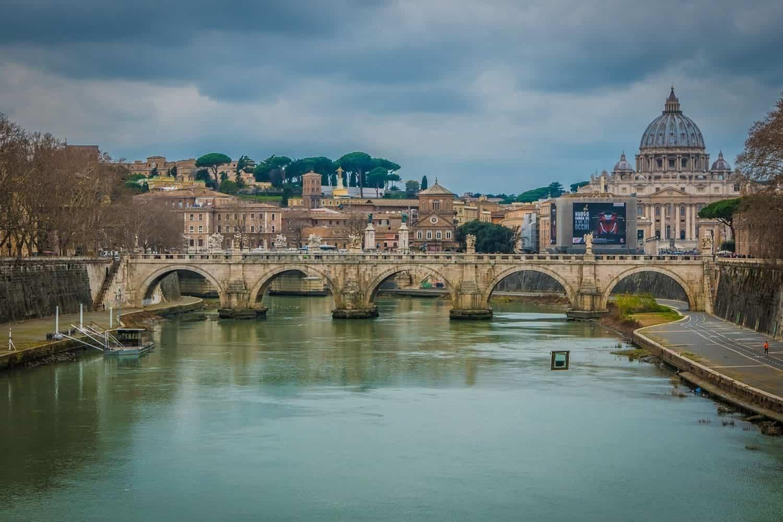 Tiempo, clima y temperatura en Roma en marzo