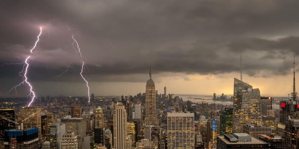 El tiempo y la temperatura en Nueva York en marzo