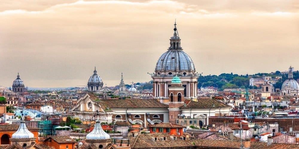 El tiempo y la temperatura en Roma en marzo
