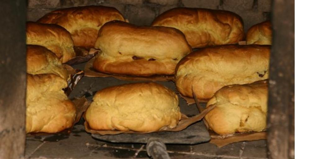 Pan de típico de semana santa en Oporto