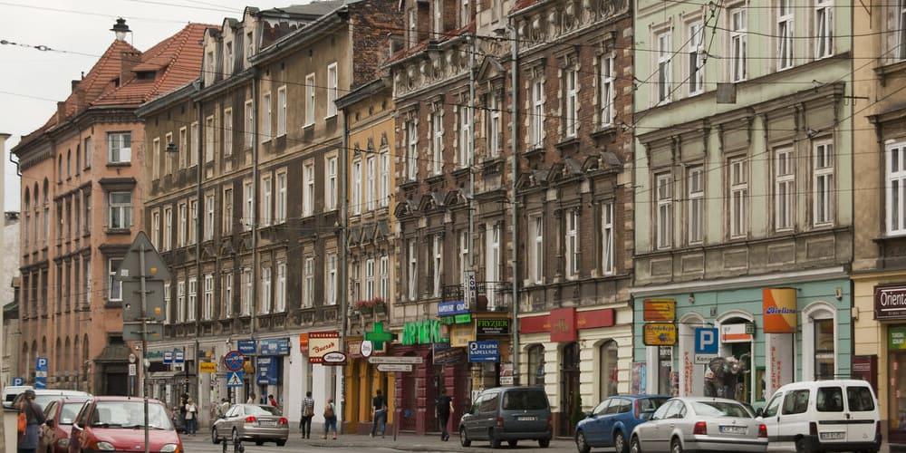 El barrio judío con buen clima en Cracovia en abril