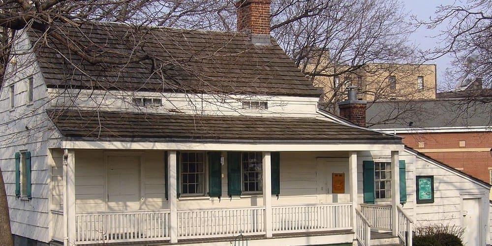Casa Museo de Allan Poe en el Bronx de Nueva York