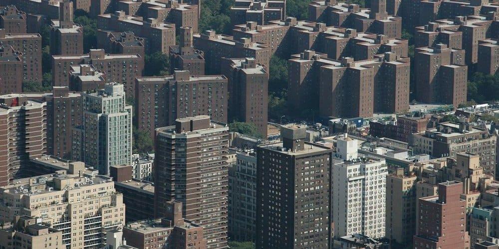 Edificios de el Bronx de Nueva York