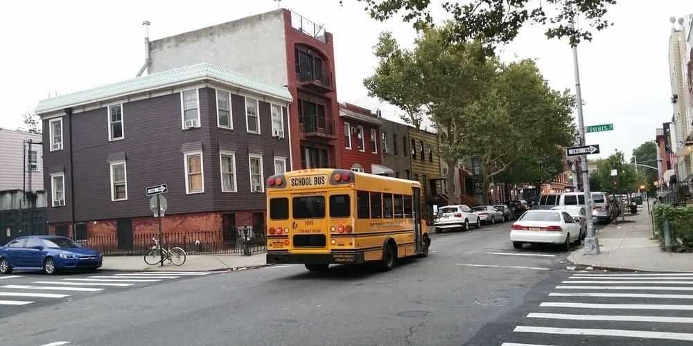Barrio judío de Williamsburg en Nueva York